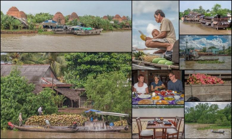 Vietnam Mekong River Cruise mosaic