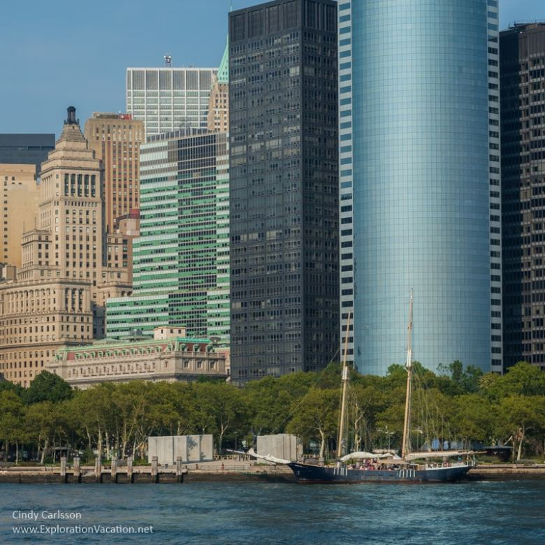 City Clipper at dock in Battery park