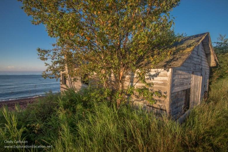 fish shack Lake Superior North Shore