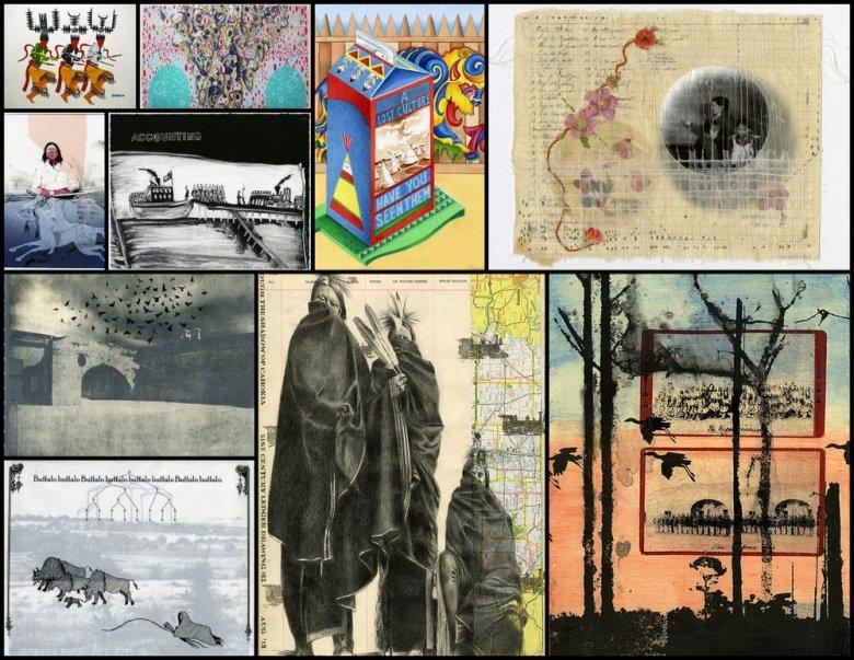 Re-Riding exhibit collage