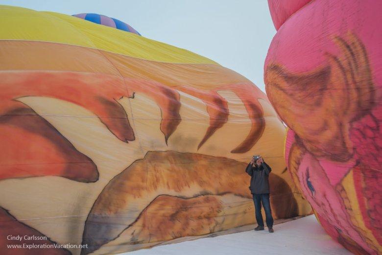 balloons on the ground
