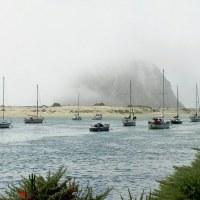rock in Morro Bay