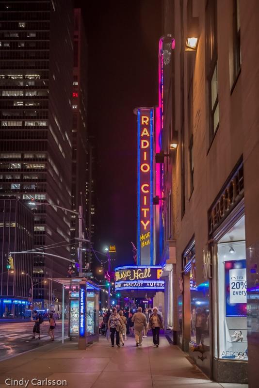 Radio City entrance