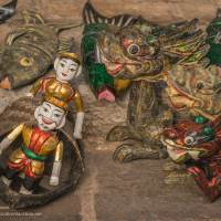 Water puppets for sale in Vietnam