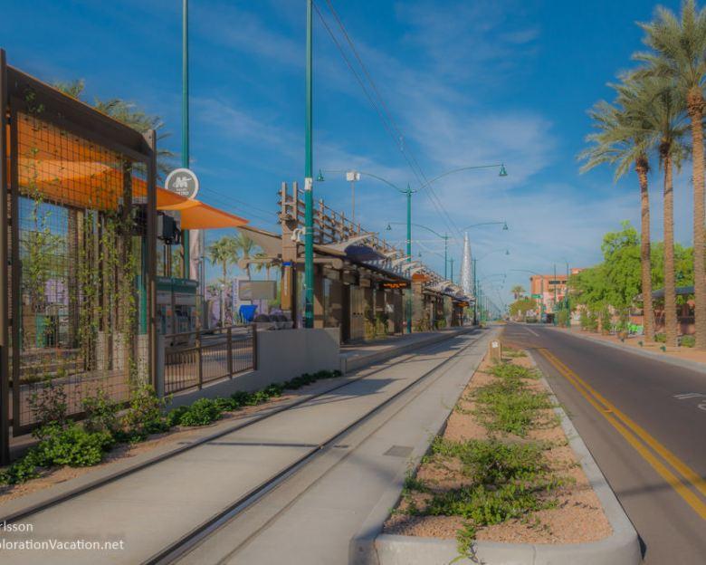 City Plaza fountain Art in Mesa AZ - ExplorationVacation.net