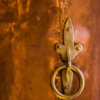 copper detail at the Copper Art Museum Clarkdale AZ - ExplorationVacation.net