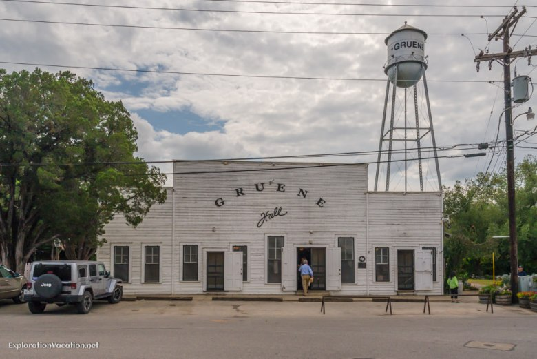 dance hall Historic Gruene Texas - ExplorationVacation.net