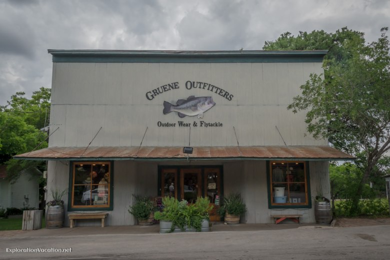 shop in Historic Gruene Texas - ExplorationVacation.net