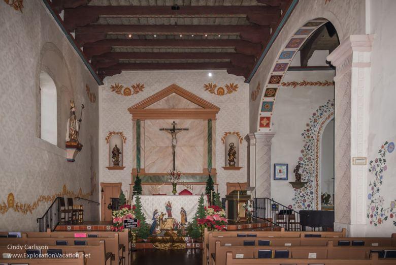 Interior Mission San Luis Obispo California -ExplorationVacation.net