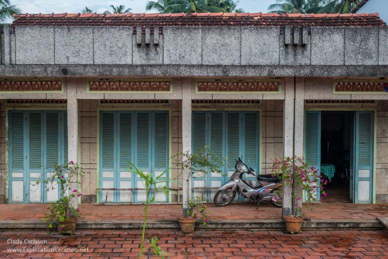 house Mekong Delta Vietnam -ExplorationVacation