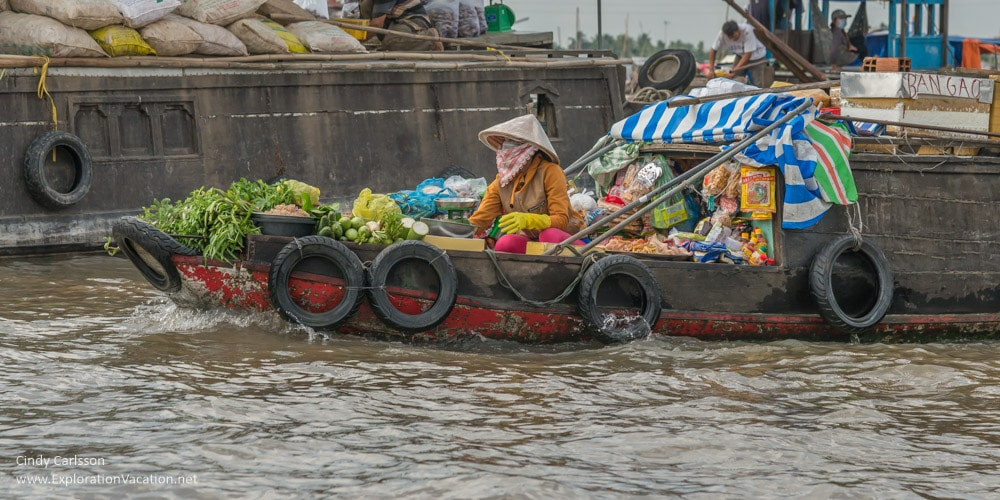 Cruising the Mekong Delta, Vietnam