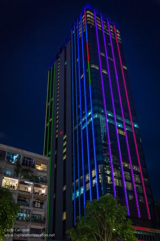 Office tower Saigon Vietnam - ExplorationVacation.net