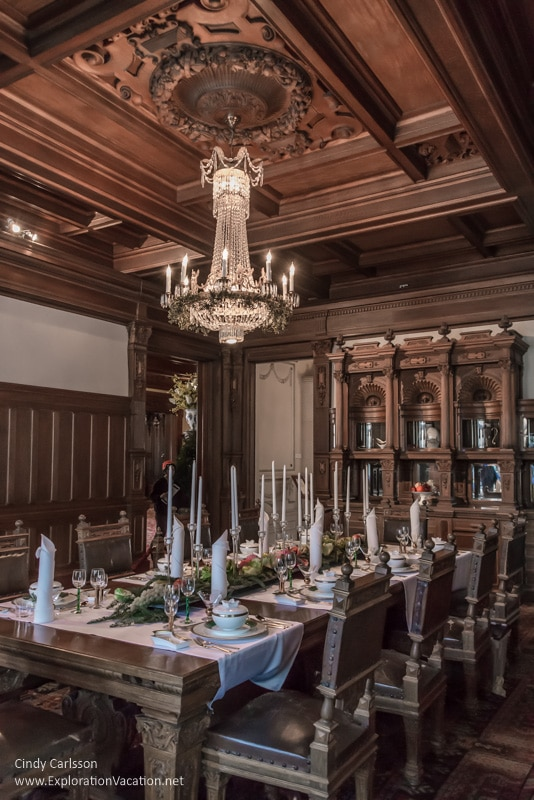 dining room American Swedish Institute Minneapolis Minnesota - ExplorationVacation.net