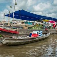 tea boat Cai Rang floating market Vietnam - ExplorationVacation.net
