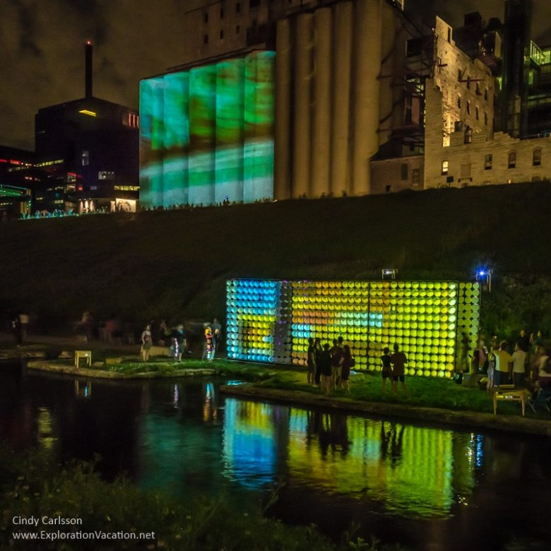 weather lab at Northern Spark in Minneapolis - ExplorationVacation.net