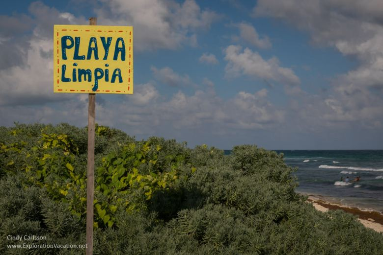 Playa Limpia Tulum Mexico - ExplorationVacation.net