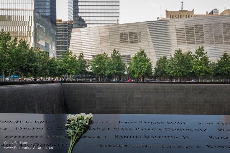 9-11 memorial in NYC - www.ExplorationVacation.net
