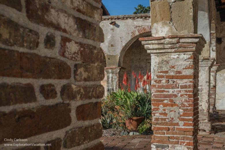 Mission San Juan Capistrano California - www.ExplorationVacation.net