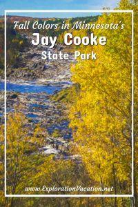 Jay Cooke state park - www.ExplorationVacation.net