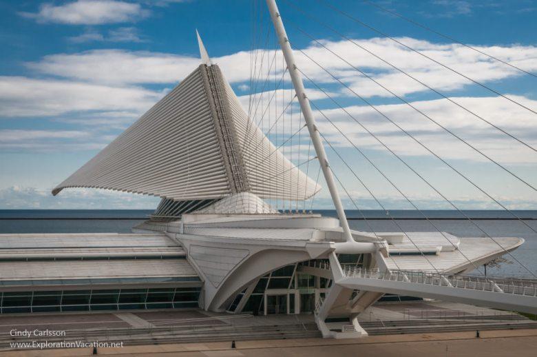 Milwaukee Art Museum - www.ExplorationVacation.net