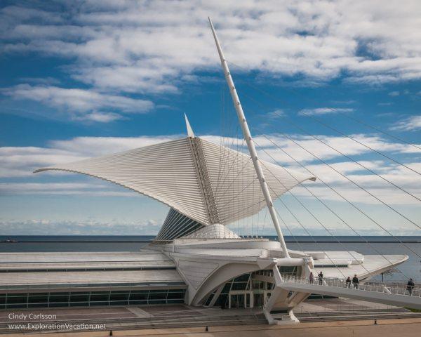 Milwaukee Art Museum Awakes Exploration Vacation