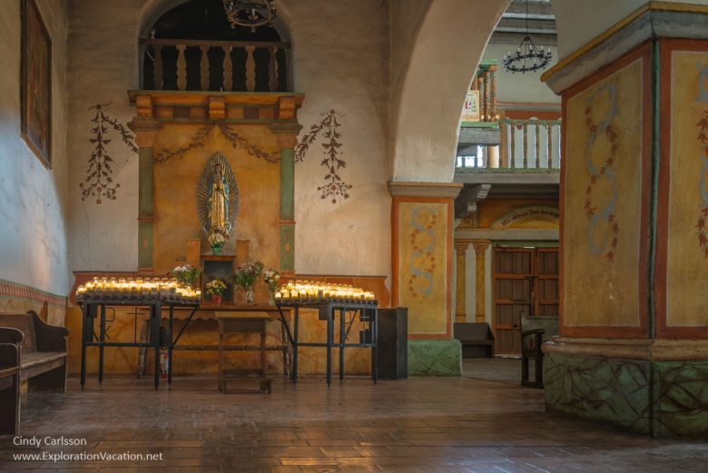 Mission San Juan Bautista California - www.ExplorationVacation.net
