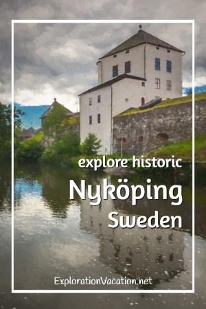 Take a stroll through historic #Nyköping #Sweden - ExplorationVacation #VisitSweden #VisitSörmland #sponsored