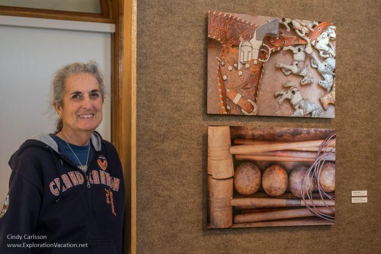 Ann Judkins' Pioneer Power at the Mankato Carnegie Art Center - www.ExplorationVacation.net