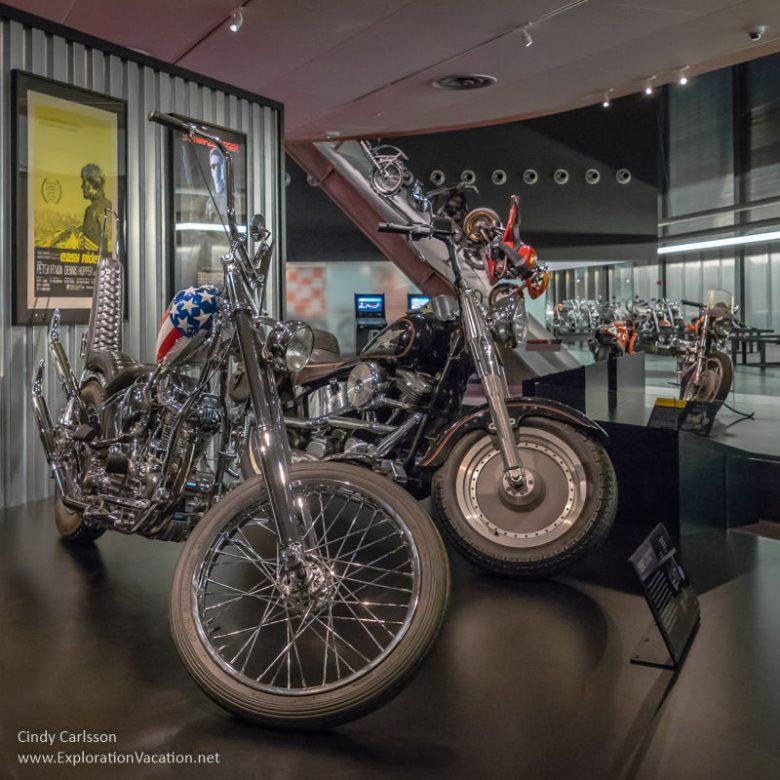 Harley-Davidson Museum Milwaukee Wisconsin - www.ExplorationVacation.net