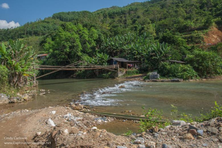 no bridge in Northern Vietnam - ExplorationVacation
