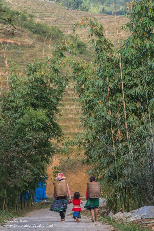 Vietnam road trip Black Hmong village Sapa - ExplorationVacation