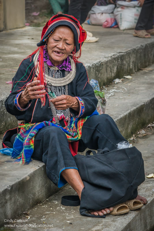 Dao woman Northern Vietnam road trip - ExplorationVacation