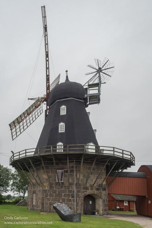 Särdals windmill Sweden - ExplorationVaccation