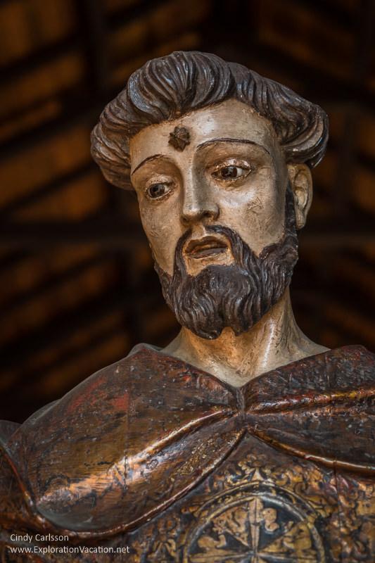 Santo Domingo de Guzman (St Dominic) Porta Coeli San German Puerto Rico - www.ExplorationVacation.net