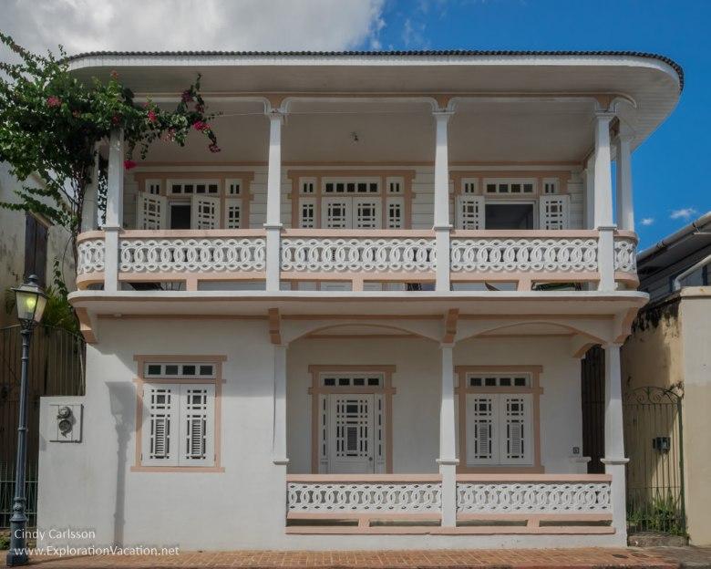 historic buildings in San German Puerto Rico - www.ExplorationVacation.net
