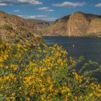 Cruising Canyon Lake, Arizona