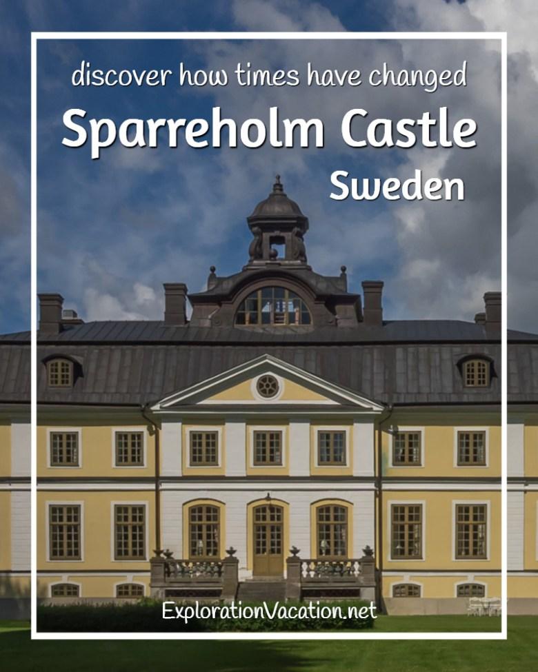 Sparreholm Castle in Sweden's rural castle and manor country - ExplorationVacation #Sweden #VisitSweden #VisitSörmland #sponsoredtravel