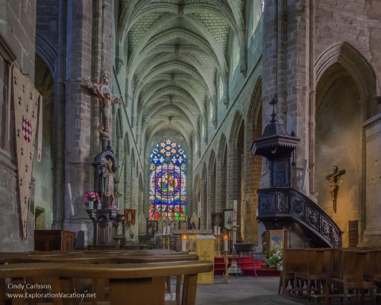 Saint Aubin's Church 2017 Guerande Medieval Festival France - www.ExplorationVacation.net