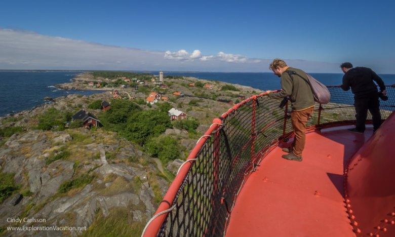 Landsort lighthouse Öja Island Sweden - www.ExplorationVacation.net