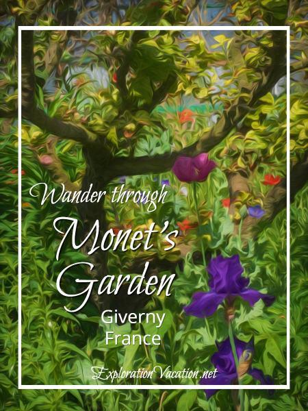 A visit to Claude Monet's garden