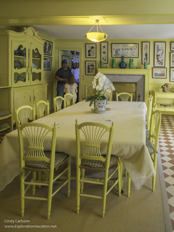 Monet's house Giverny France - www.explorationvacation.net
