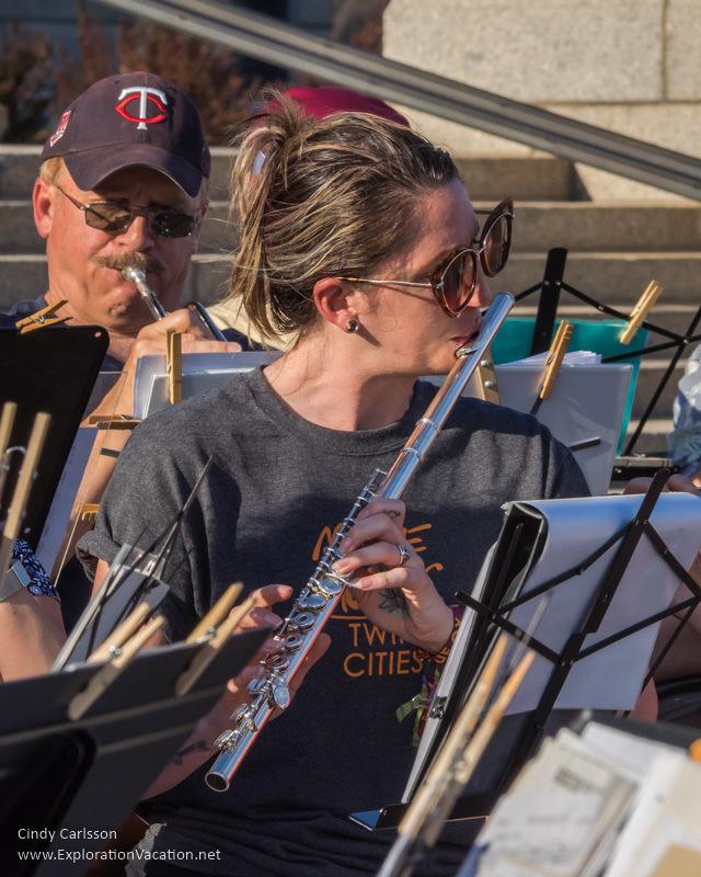 Make Music Day 2017 St Paul Minnesota Sousapalooza - www.ExplorationVacation.net
