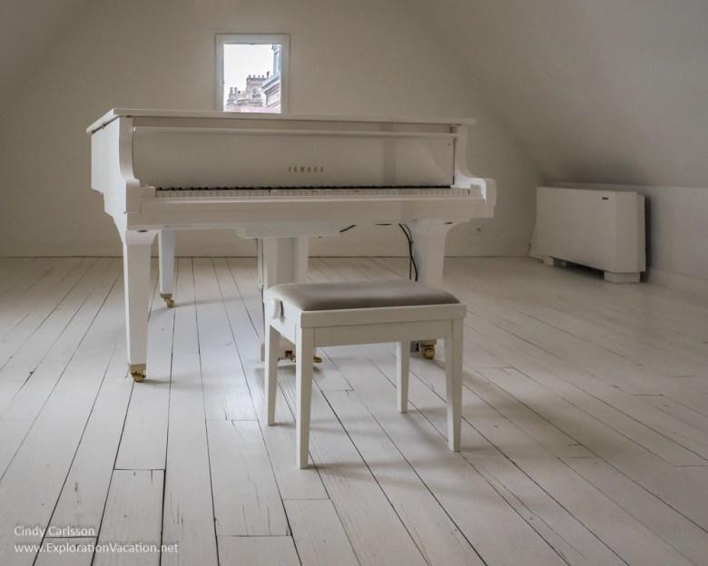 piano Erik Satie Museum Honfleur France