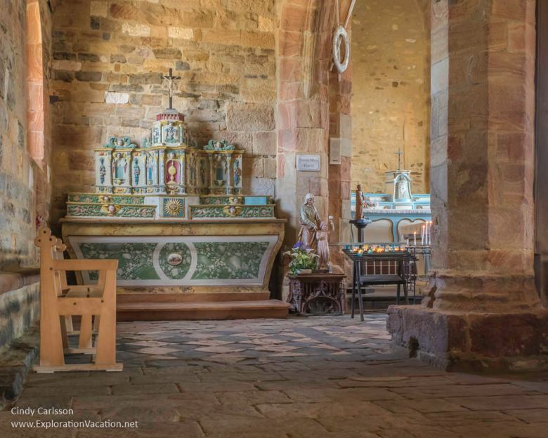 Churches in Brittany - www.ExplorationVacation.net