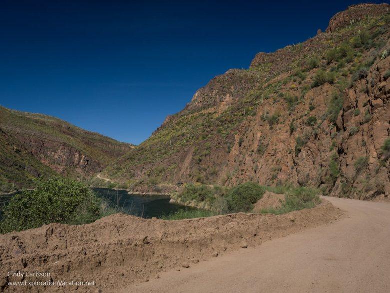 Arizona Apache Trail Historic Highway road trip - www.explorationvacation.net