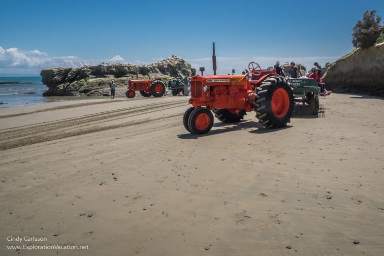 Cape Kidnappers tractor tour Hawkes Bay New Zealand - www.explorationvacation.net