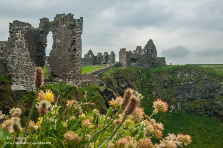castle ruins Northern Ireland- www.ExplorationVacation.net
