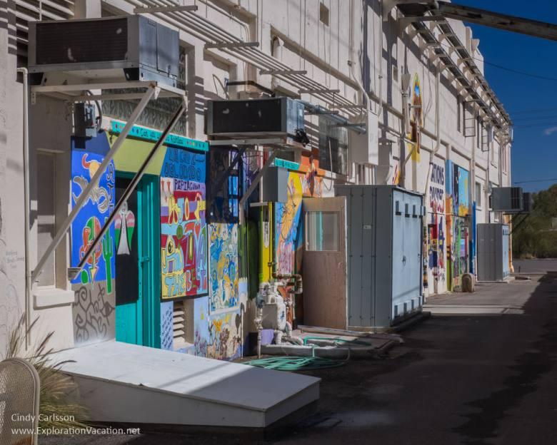 Art Alley in Ajo Arizona - ExplorationVacation.net