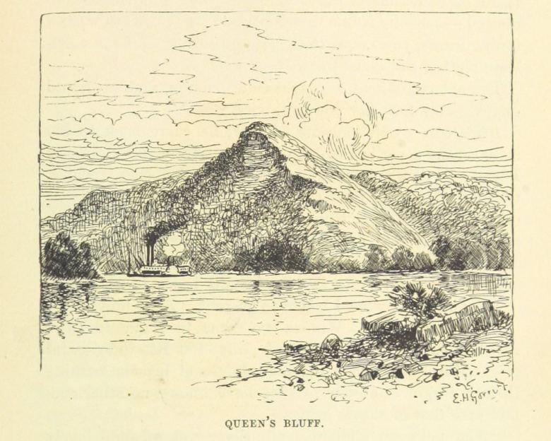 sketch of Queen's Bluff