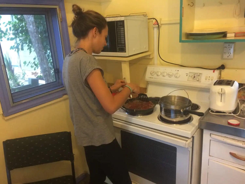 Kochen Te Araroa Neuseeland Fernwanderung